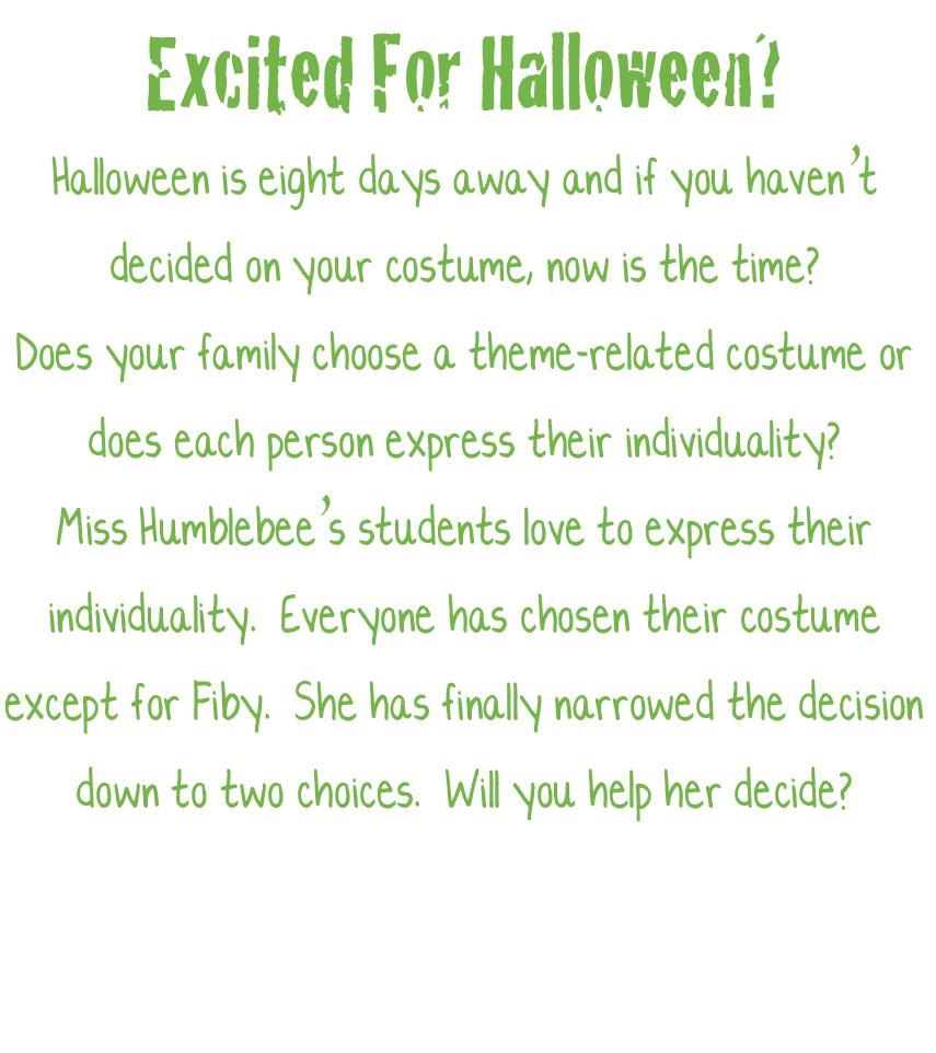 Help Choose a Costume