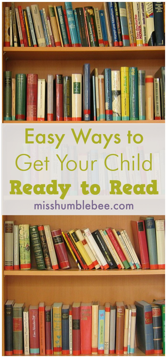 Getting your child ready to read doesn't have to be difficult