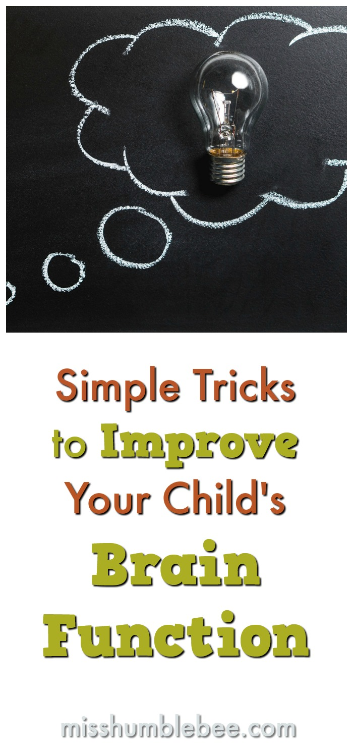 There are many things you can do to help improve your child's brain function. Here are some simple tips and tricks.