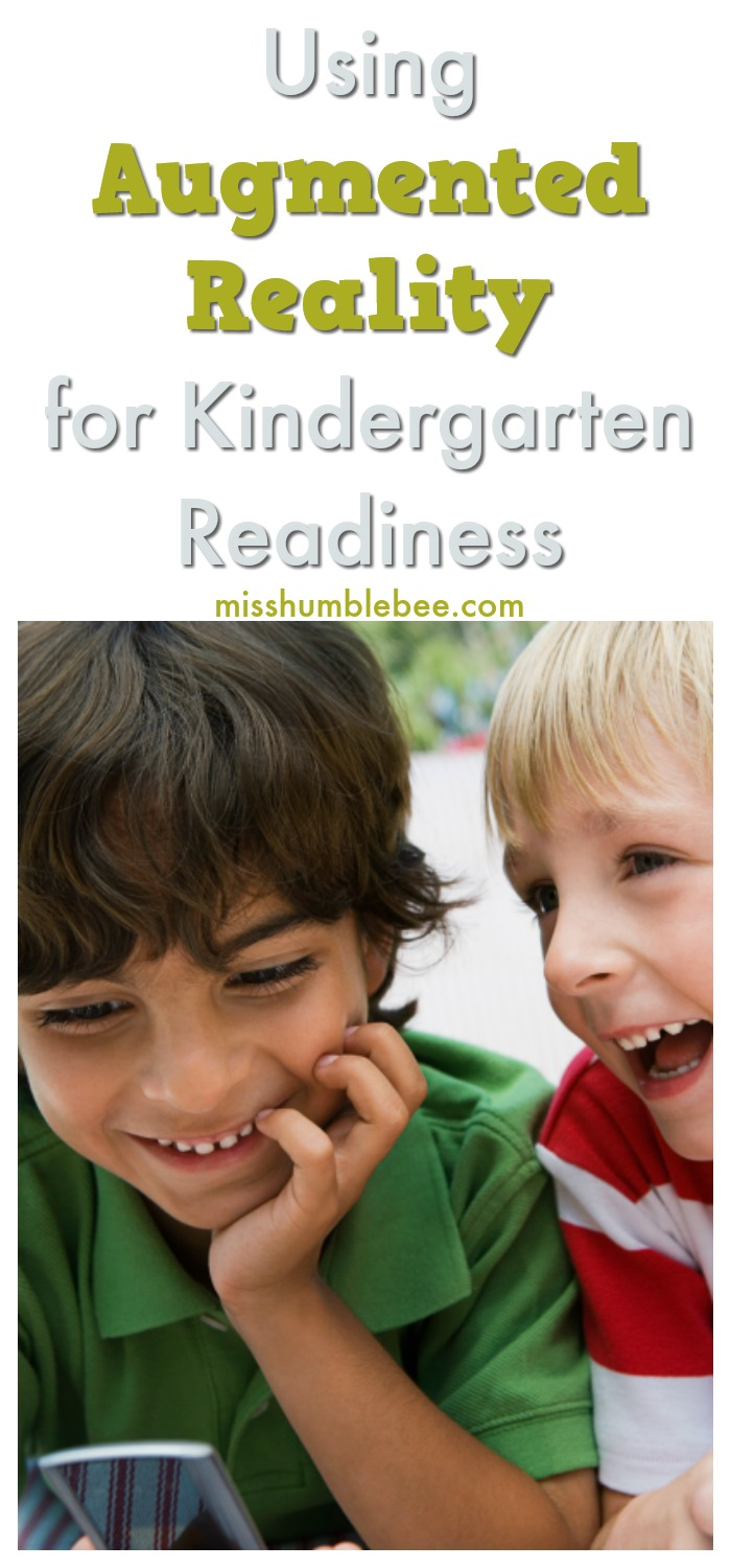 Using augmented reality is a great way to help your child prepare for kindergarten and beyond. Here's how it works.