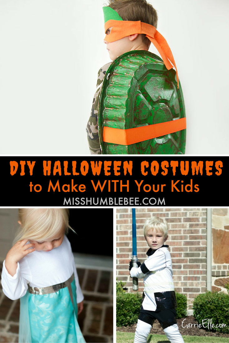 diy halloween costumes to make with your kids - Halloween Costumes Diy Kids