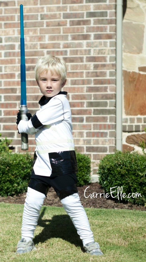 DIY Storm Troopers Costume by Carrie Elle