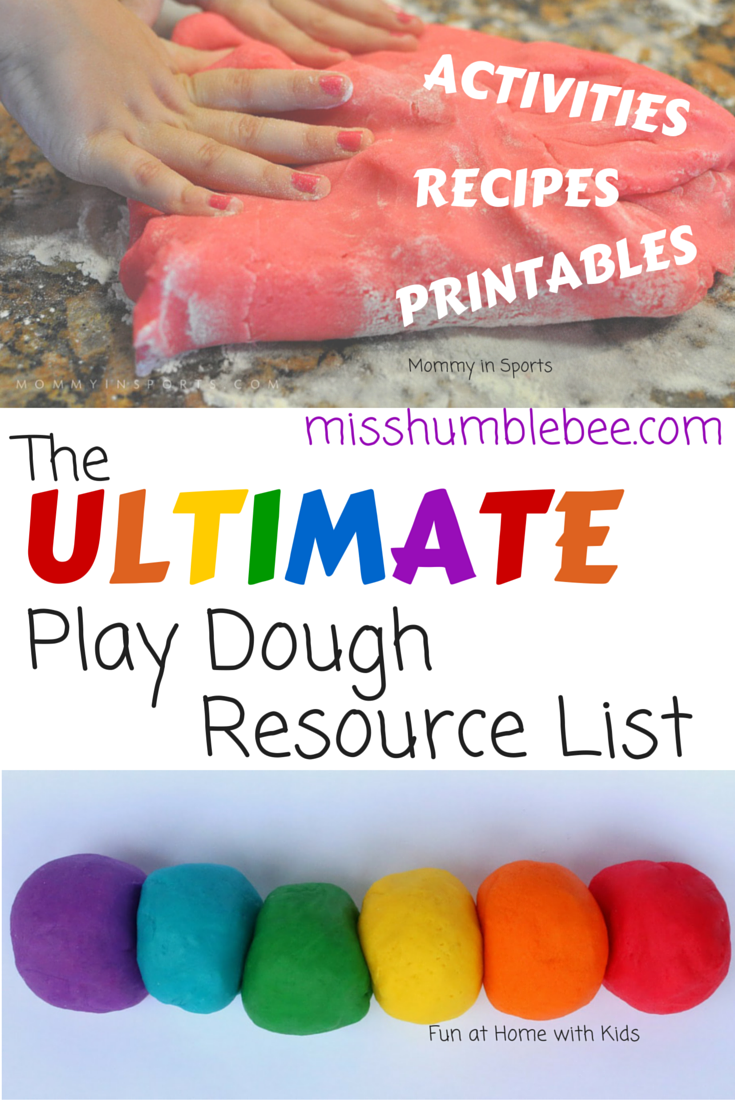Play Dough Resource List for everyone on National Play Doh day! It's time to dig in, create and have some fun with this comprehensive play doh post!