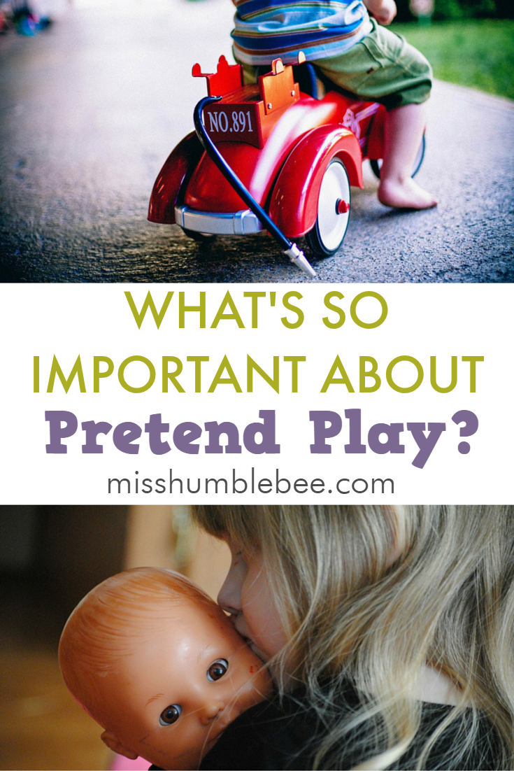 What's so important about pretend play?
