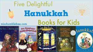 Five Delightful Hanukkah Books for Kids