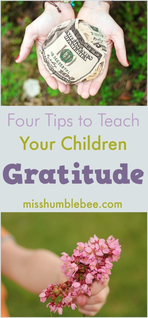 How to teach your children to be thankful