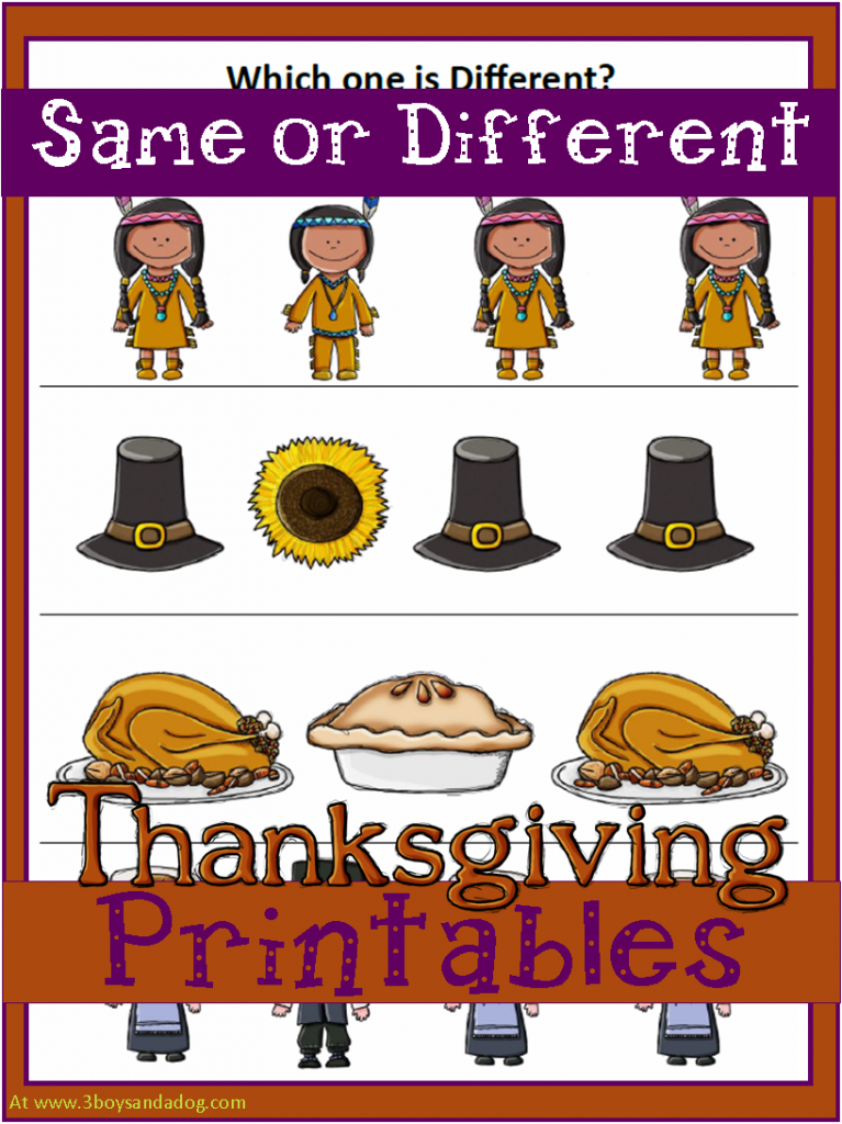 Printable Worksheets thanksgiving science worksheets : Thanksgiving Learning Activities for All Ages - Misshumblebee's Blog