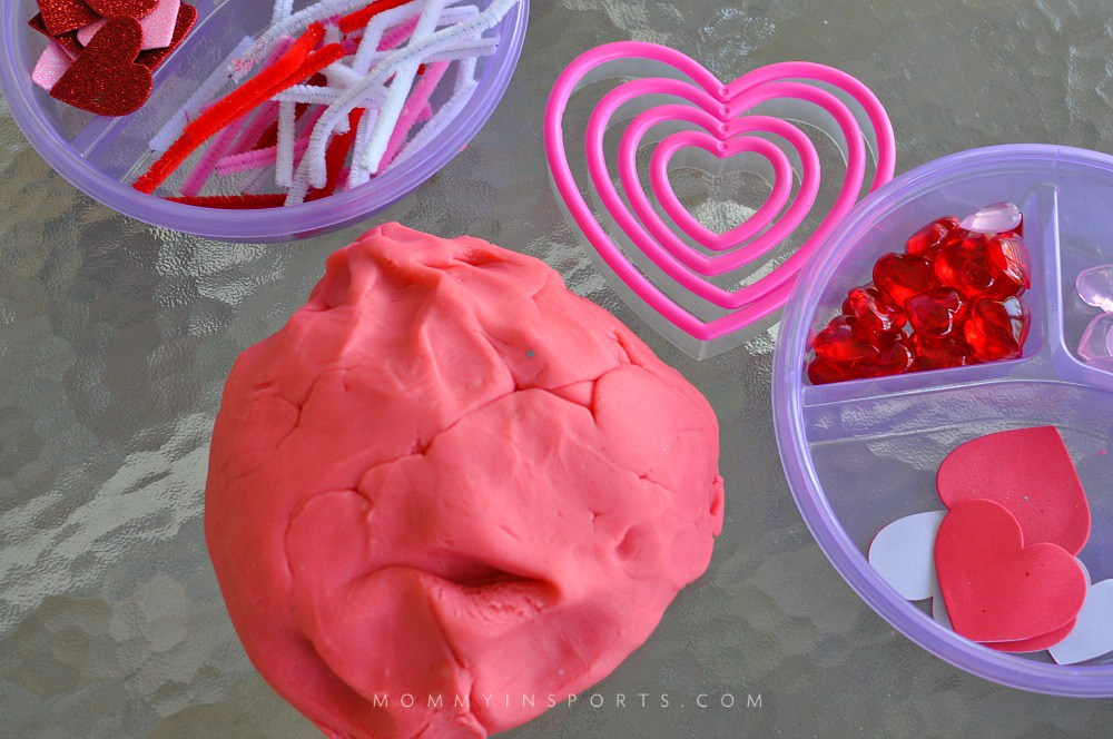 sensory play for valentine's day