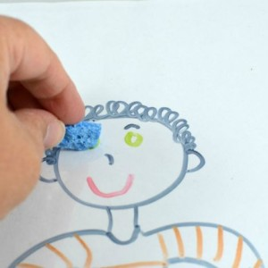 Body Parts Sticker Activity