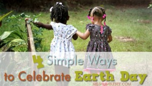 Four Simple Ways to Celebrate Earth Day