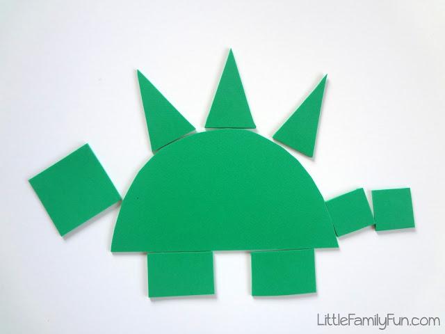build a dinosaur little family fun