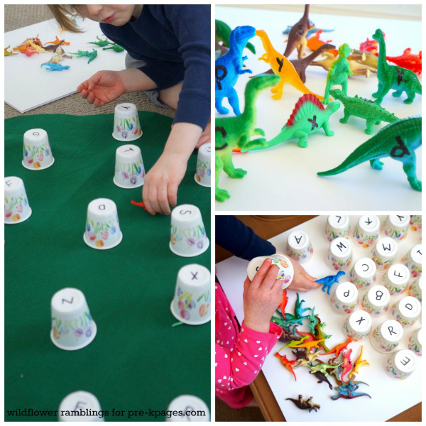 dinosaur-alphabet-learning-activity pre-k pages
