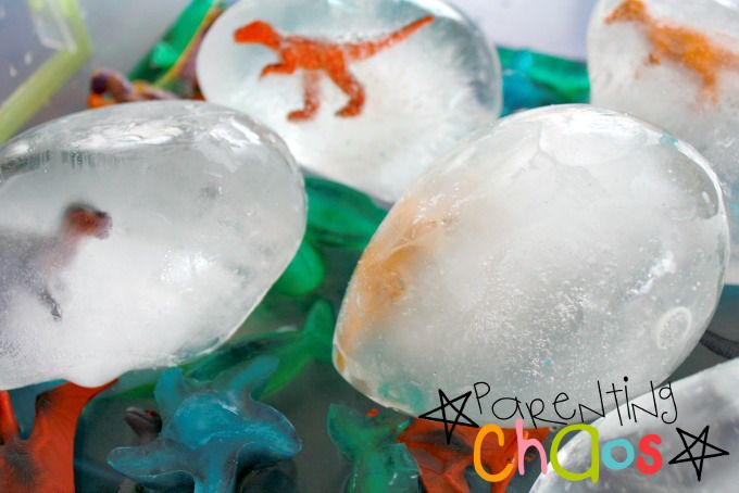 excavating dinosaurs from ice parenting chaos