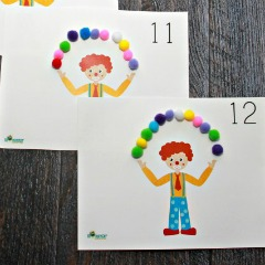 Counting With a Juggling Clown