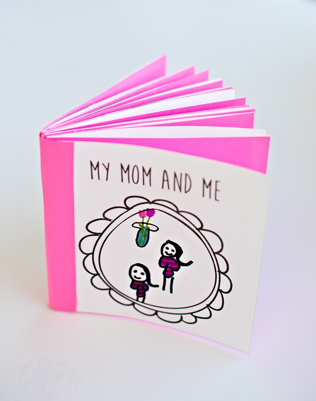 kid made free printable mothers day book hello wonderful