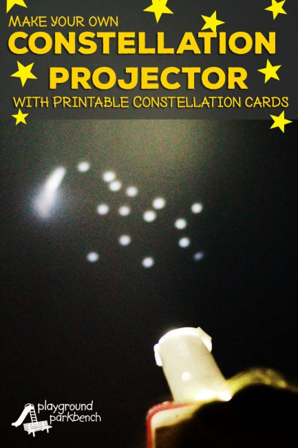 DIY Constellation Projector Playground Parkbench