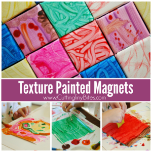Textured Painted Magnets