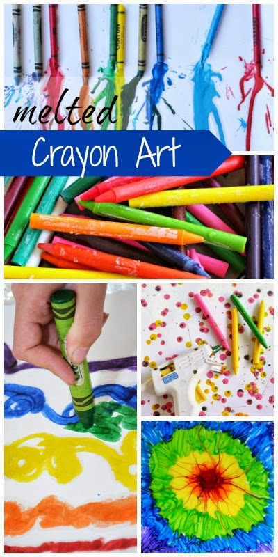 Crayon Art for Kids