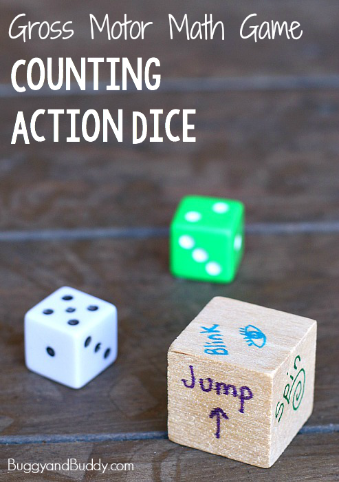 Gross Motor Dice Game