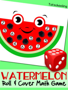 Watermelon Math Game