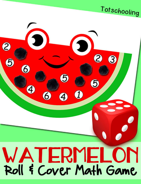 Watermelon-Math-Game totschooling