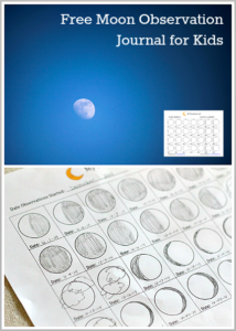Astronomy for Kids: Moon Journal