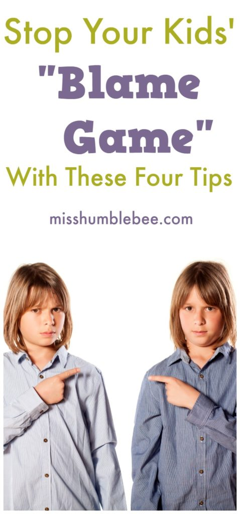 Stop Your Kids Blame Game With These Four Tips 1
