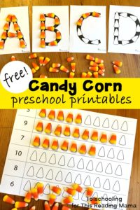Candy Corn Preschool Activities