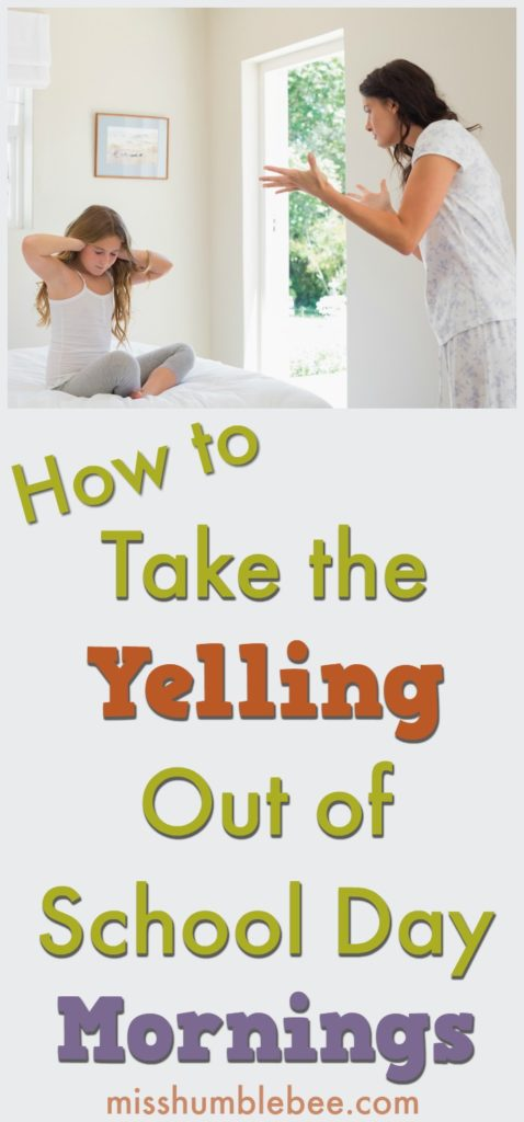 If getting out the door for school and work each morning is a battle, these six tips are for you. Take the yelling out of school day mornings, leave the stress behind, and start your day on the right foot.