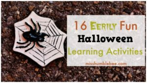 16 Eerily Fun Halloween Learning Activities