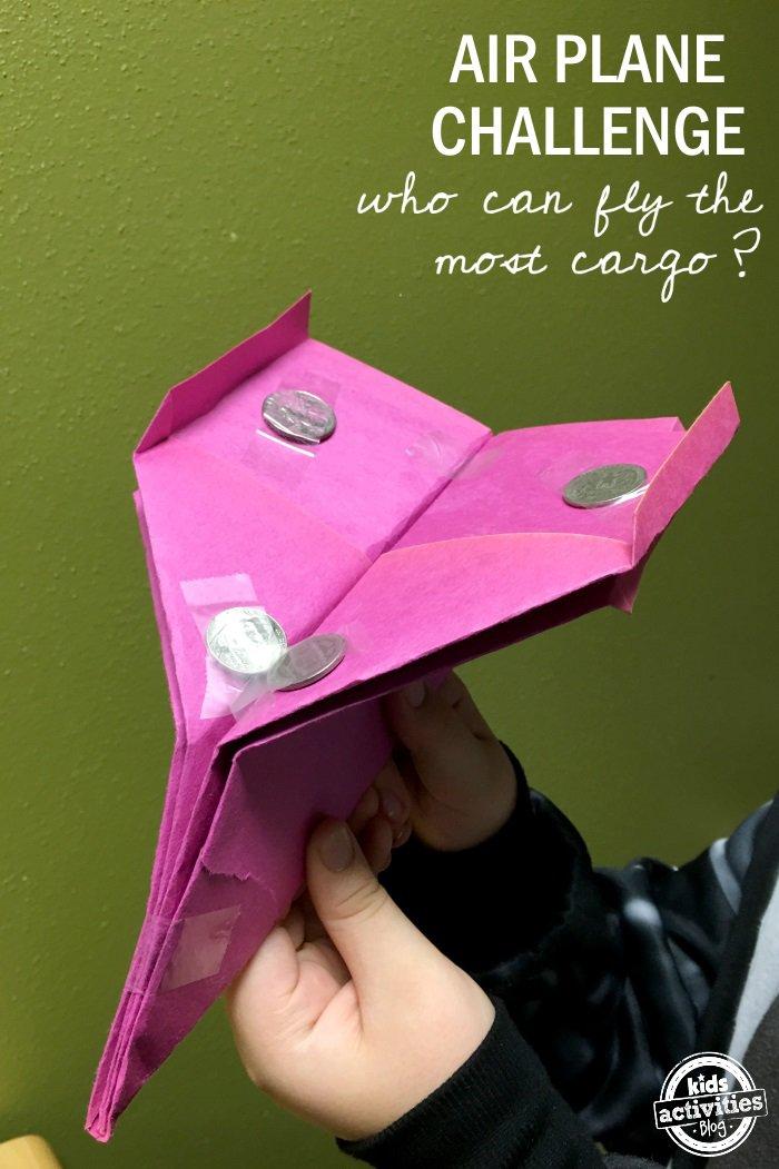Stem Paper Airplane Challenge Misshumblebee S Blog