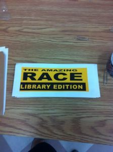 Amazing Race: Library Edition