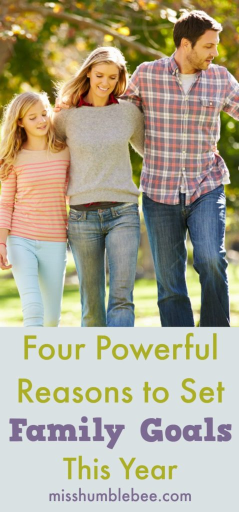 Goal setting is often a solitary endeavor, but have you ever set family goals? If not, read on to discover four powerful reasons to make this your year of family goal setting!