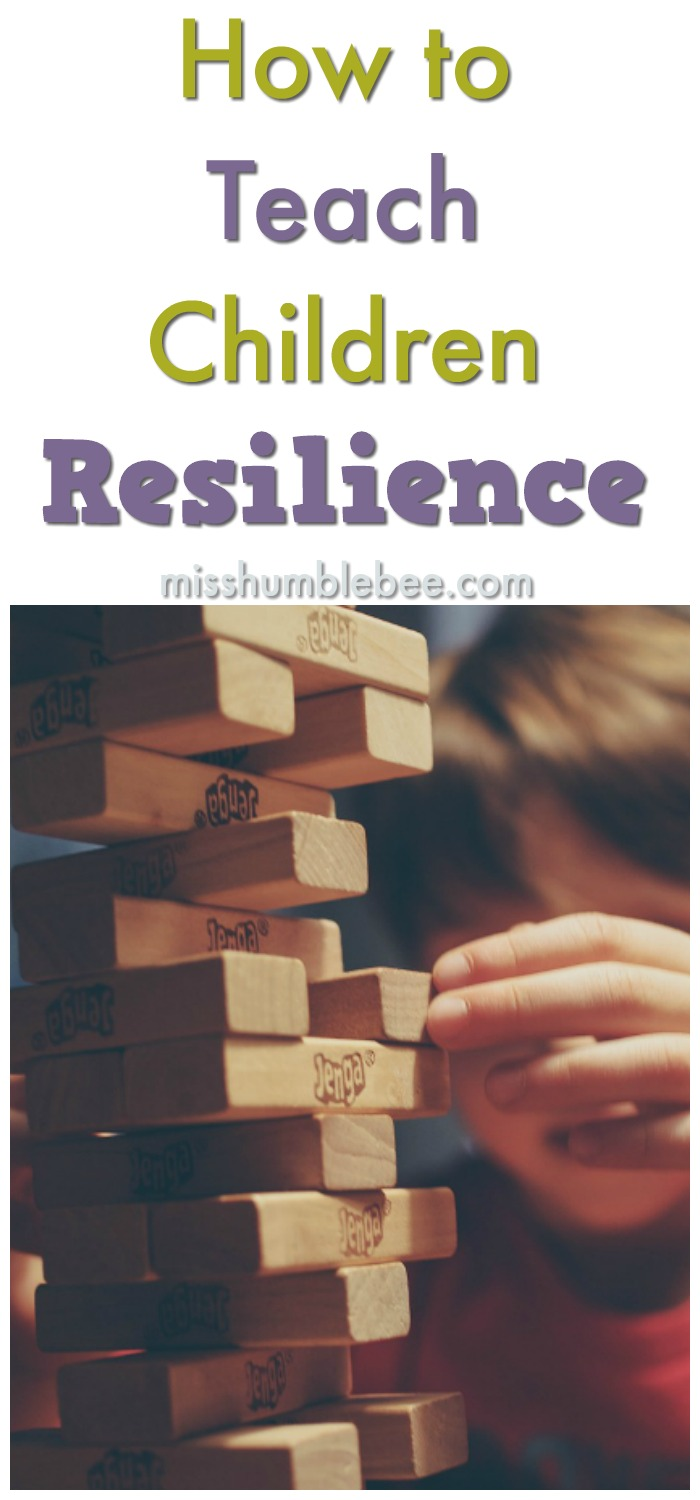 It's our natural instinct to protect our children, but we also need to teach them how to deal with adversity and come out stronger on the other side. Here's how to teach your children resilence.