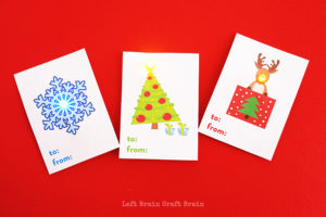 Light Up Holiday Gift Tags